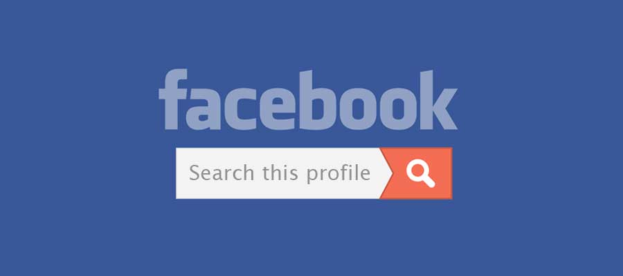 "Facebook test nieuwe functie ""Search This Profile"""
