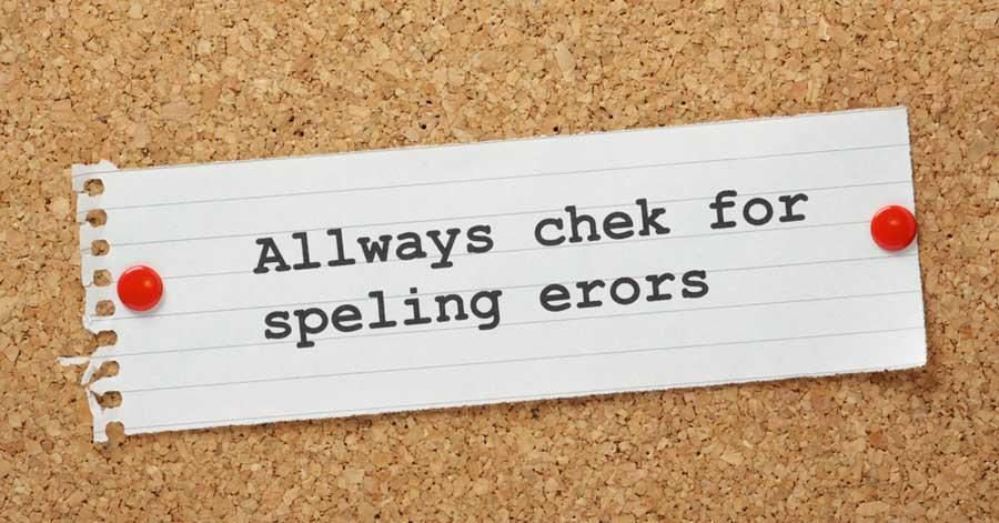 Spelling en grammatica als SEO factoren