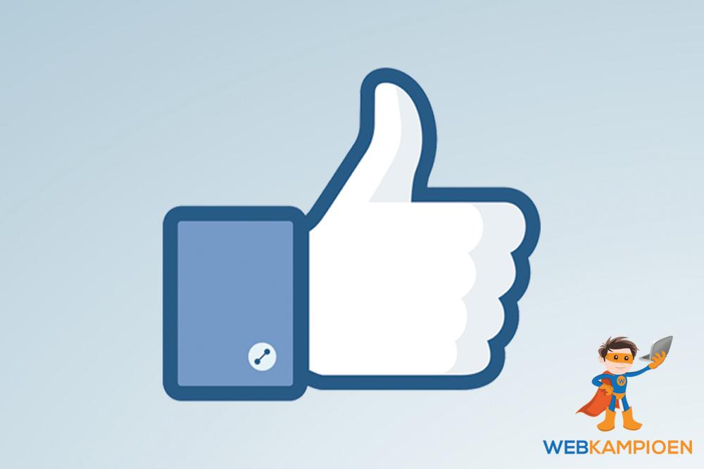Waarom Facebook likes minder belangrijk zijn dan je denkt